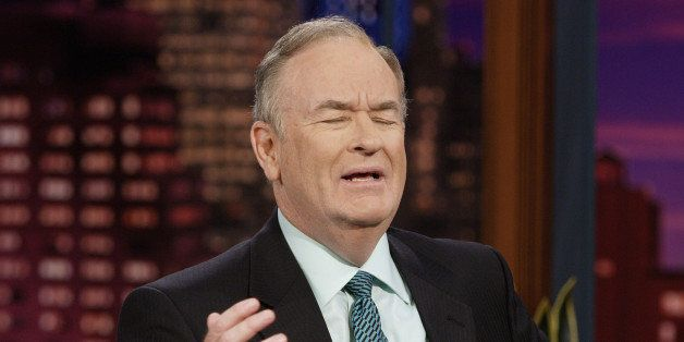 THE TONIGHT SHOW WITH JAY LENO -- Episode 3456 -- Pictured: Political commentator Bill O'Reilly during an interview on Octobe