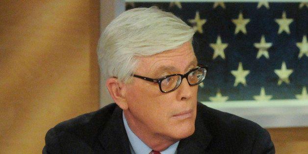 MEET THE PRESS -- Pictured: (l-r) ? Hugh Hewitt.Host, ?The Hugh Hewitt Show,? left, and Helene Cooper, Pentagon Correspondent