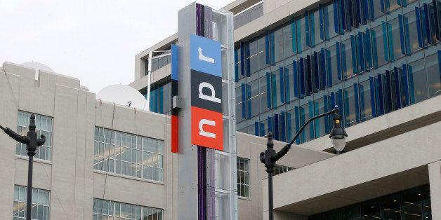 The new headquarters for National Public Radio (NPR) on North Capitol Street in Washington, Monday, April 15, 2013. NPR moved