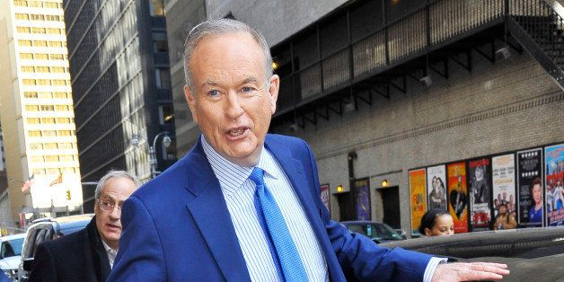 NEW YORK, NY - MARCH 24:  Bill O'Reilly is seen on March 24, 2015 in New York City.  (Photo by Patricia Schlein/Star Max/GC I