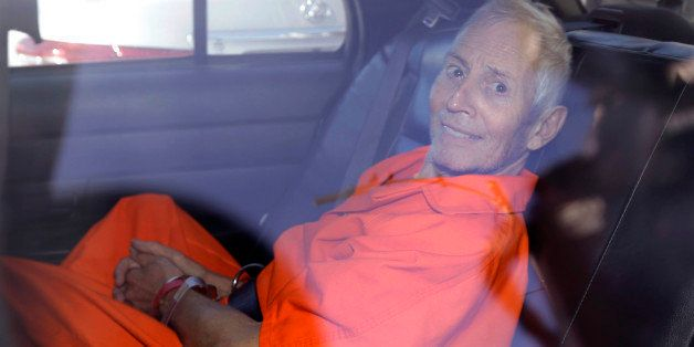 Robert Durst is transported from Orleans Parish Criminal District Court to the Orleans Parish Prison after his arraignment in