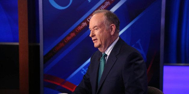 NEW YORK, NY - MARCH 17:  Host Bill O'Reilly appears on 'The O'Reilly Factor' on The FOX News Channel at FOX Studios on March