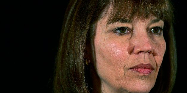 LAS VEGAS - OCTOBER 18:  (FILE PHOTO) New York Times reporter Judith Miller listens at the 2005 Society of Professional Journ