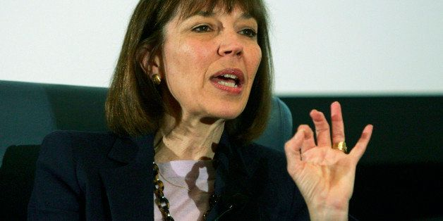LAS VEGAS - OCTOBER 18:  New York Times reporter Judith Miller speaks at the 2005 Society of Professional Journalists Convent