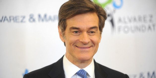 NEW YORK, NY - MARCH 11:  Dr. Mehmet Oz arrives at  the Pinoy Relief Benefit Concert at Madison Square Garden on March 11, 20