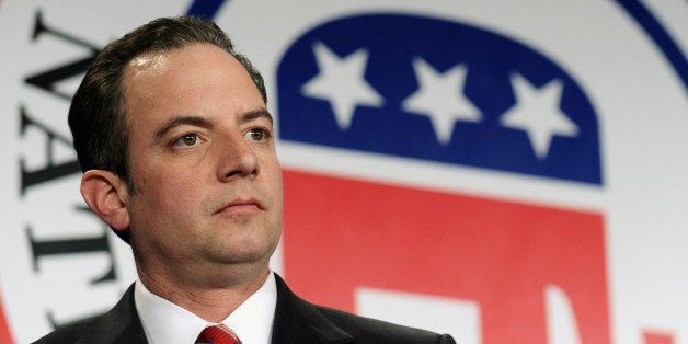 FILE - In this Jan. 24, 2014 file photo, Republican National Committee Chairman Reince Priebus is seen at the RNC winter meet