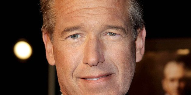 """NJO/STAR MAX/IPx 9/20/10 Brian Williams at the premiere of """"Wall Street: Money Never Sleeps"""". (NYC)"""
