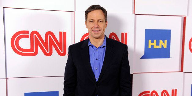 Jake Tapper of CNN poses at the CNN Worldwide All-Star Party, on Friday, Jan. 10, 2014, in Pasadena, Calif. (Photo by Chris P