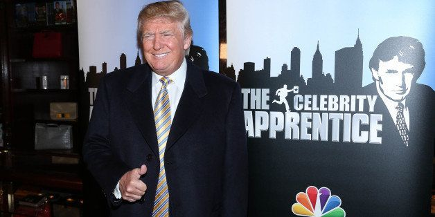 NEW YORK, NY - JANUARY 20:  Donald Trump attends 'Celebrity Apprentice' Red Carpet Event at Trump Tower on January 20, 2015 i