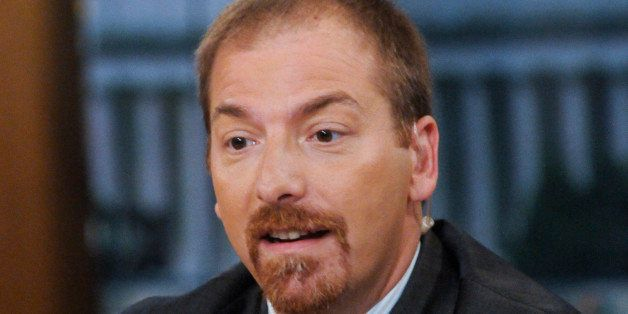 MEET THE PRESS -- Pictured: (l-r) Chuck Todd, NBC News Political Director, appears on 'Meet the Press' in Washington, D.C., S