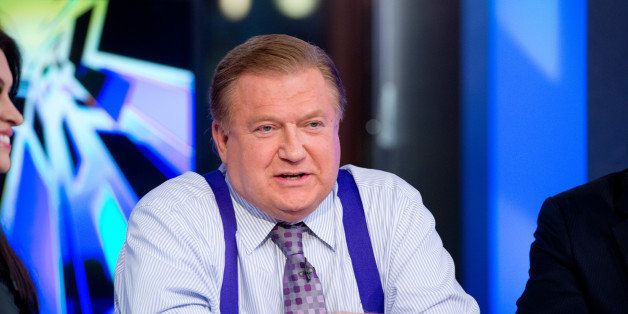 NEW YORK, NY - FEBRUARY 26: Co-host Bob Beckel attends FOX News' 'The Five' at FOX Studios on February 26, 2014 in New York C