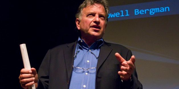 Lowell Bergman giving a talk at TEDx SF.  Lowell is a Pulitzer Prize winning investigative reporter.   He was played by Al Pa
