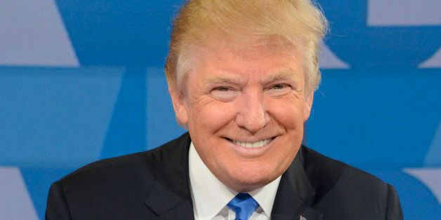 GOOD MORNING AMERICA - Republican presidential candidate and author of 'Crippled America,' Donald Trump, visits GOOD MORNING