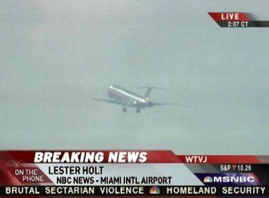 Miami Plane Drama: 30 Rock Synergies For MSNBC Thanks To Lester Holt