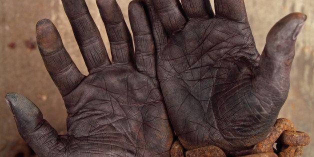 Dark Hands in Heavy Chains