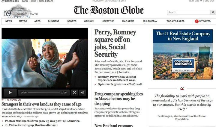 Boston Globe Launches Pay Site: BostonGlobe com | HuffPost