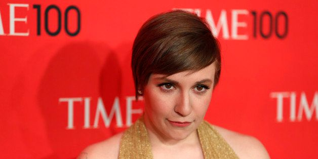 Actress Lena Dunham arrives for the Time 100 gala celebrating the magazine's naming of the 100 most influential people in the