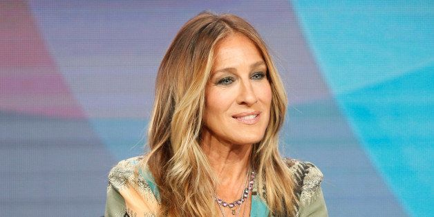 "Executive Producer and cast member Sarah Jessica Parker participates in a panel for the series ""Divorce"" at the HBO Televisio"