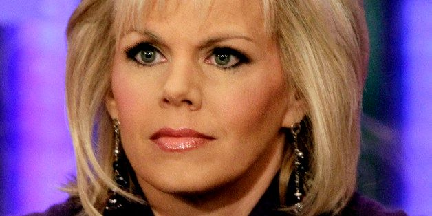 "FILE - This Nov. 30, 2010 file photo shows Gretchen Carlson, co-host of the ""Fox & friends"" television program appears on"