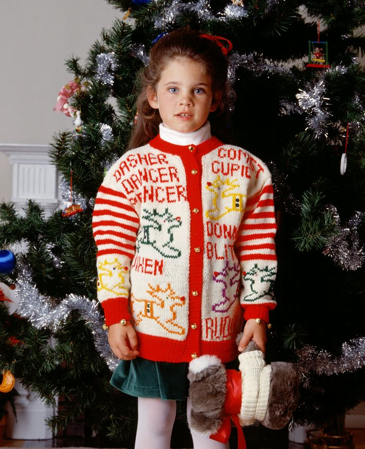 Ugly Sweater, Cute Kid | HuffPost