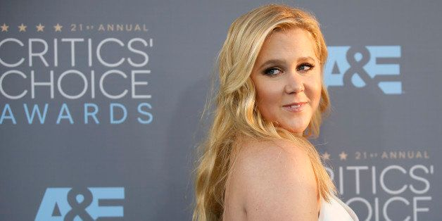 Actress Amy Schumer arrives at the 21st Annual Critics' Choice Awards in Santa Monica, California January 17, 2016.  REUTERS/