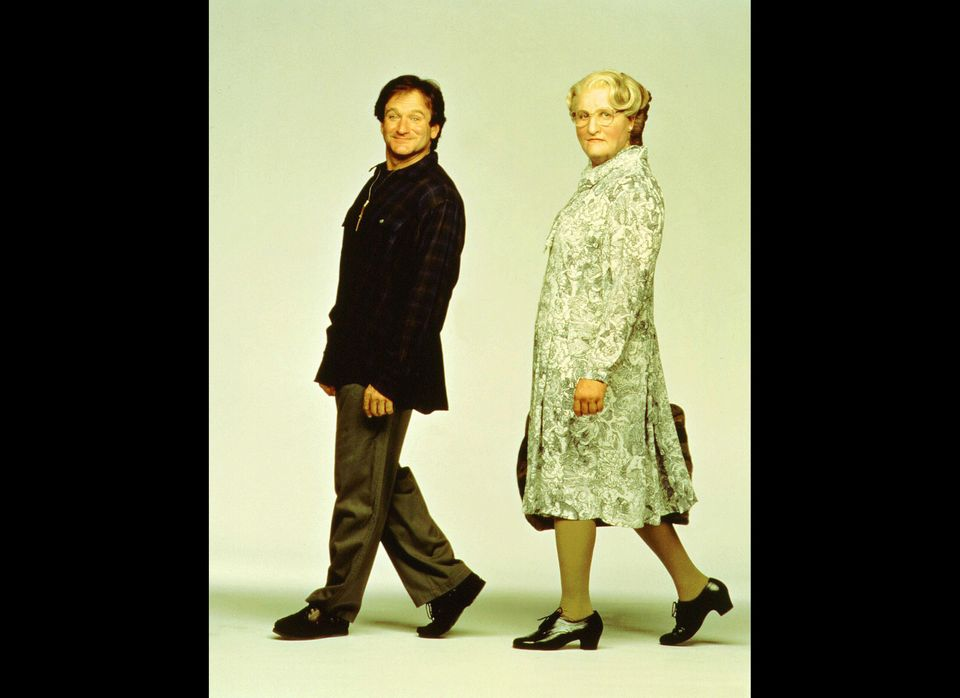 Robin Williams had one of his greatest successes dressing in drag in 1993 as Mrs. Doubtfire.