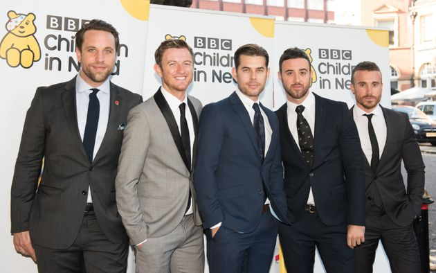 Timmy (second left) with his Overtones