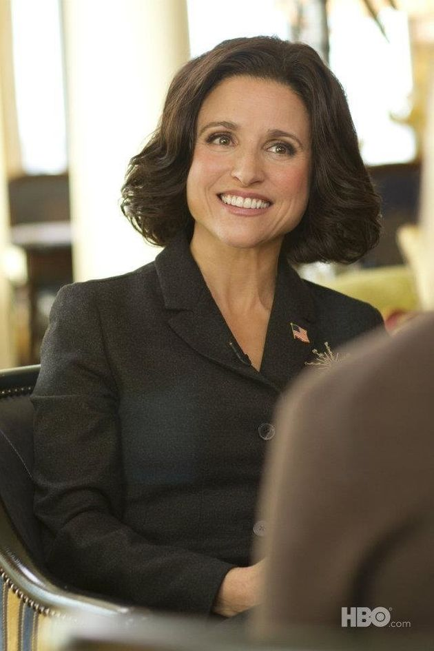 Julia Louis Dreyfus Takes The White House Huffpost