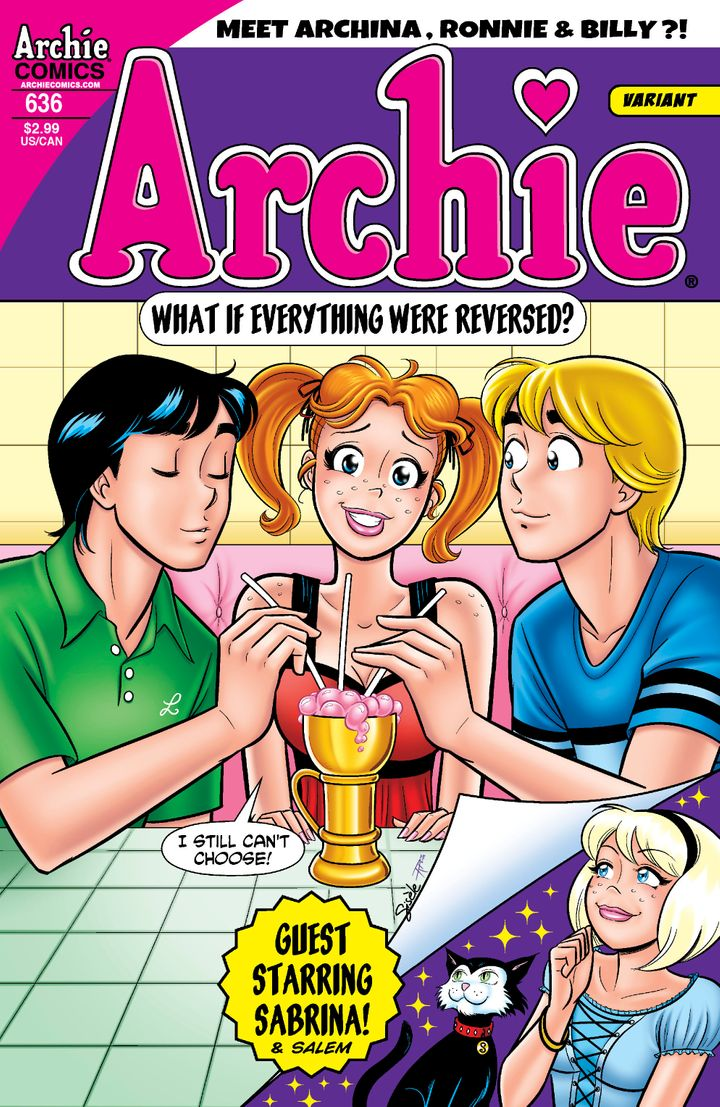 archie comics gender swap issue 636 to debut archina photo