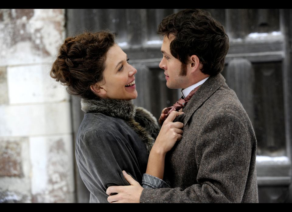 Maggie Gyllenhaal as Charlotte Dalrymple and Hugh Dancy as Mortimer Granville