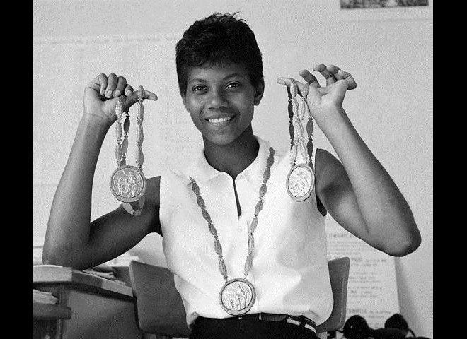 After winning three gold medals at the 1960 Summer Olympics in Rome, Wilma Rudolph became internationally known as the fastes