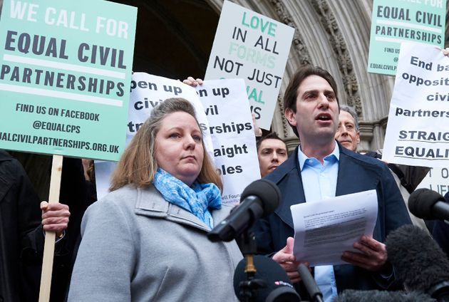 Straight Couples 'Victimised' By Civil Partnerships Should Change Marriage From Within - Just Like The...