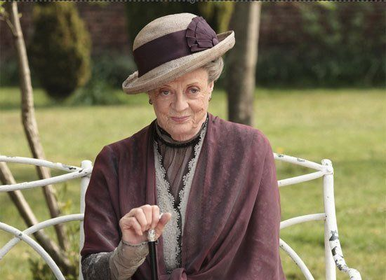 """Downton Abbey"" has become an international sensation, and Maggie Smith's hilariously dry portrayal of Violet, the Dowager Co"