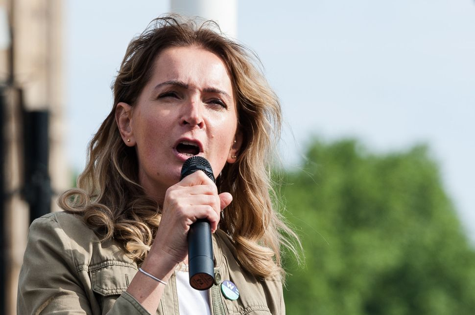 Sophie Walker, leader of theWomen's Equality Party