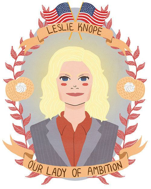 """Leslie Knope from """"Parks and Recreation"""""""