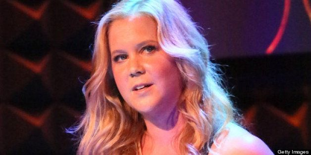 NEW YORK, NY - MAY 20:  Comedian Amy Schumer performs at Glamour's presentation of 'These Girls' at Joe's Pub on May 20, 2013