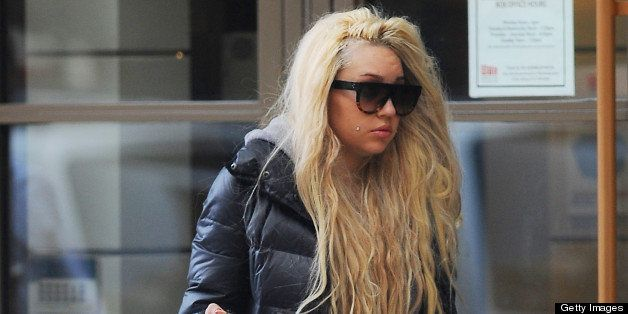 NEW YORK, NY - APRIL 09:  Amanda Bynes is seen in Manhattan on April 09, 2013 in New York City.  (Photo by Josiah Kamau/BuzzF