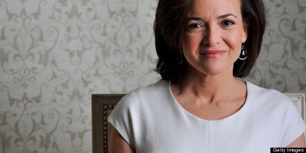 WASHINGTON, DC - MARCH 14:  Sheryl Sandberg, who is the COO of Facebook and the author of 'Lean In: Women, Work, and the Will