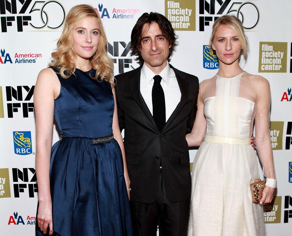 NEW YORK, NY - SEPTEMBER 30:  (L-R) Greta Gerwig, Noah Baumbach and Mickey Sumner attend the 'Frances HA' - Gala Presentation