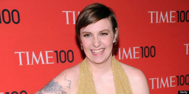 NEW YORK, NY - APRIL 23:  Filmmaker Lena Dunham attends the 2013 Time 100 Gala at Frederick P. Rose Hall, Jazz at Lincoln Cen