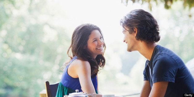 Attraction woman blushing 25 Signs