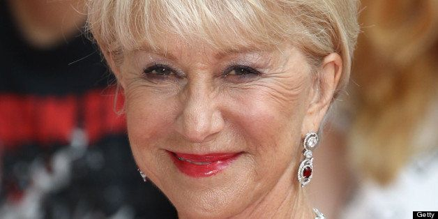 LONDON, UNITED KINGDOM - JULY 22: Dame Helen Mirren attends the European Premiere of Red 2 at Empire Leicester Square on July
