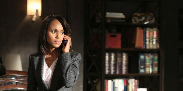 SCANDAL - 'Guess Who's Coming to Dinner' - Through flashbacks we learn more about Olivia's estranged relationship with her fa