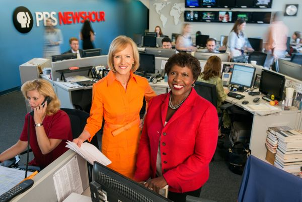 "In September, journalists <a href=""http://www.nytimes.com/2013/08/07/business/media/gwen-ifill-and-judy-woodruff-to-co-anchor"