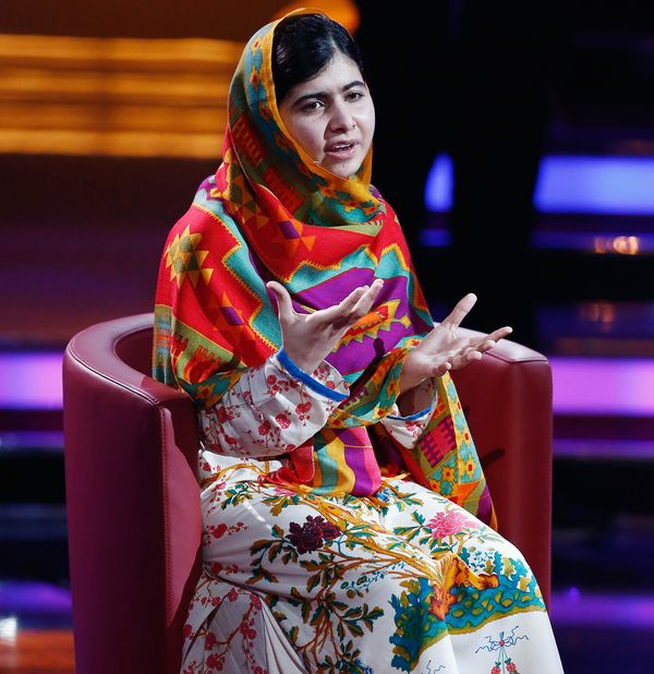 "<a href=""http://en.wikipedia.org/wiki/Malala_Yousafzai"" target=""_blank"">Malala</a> is a name that was heard round the world t"