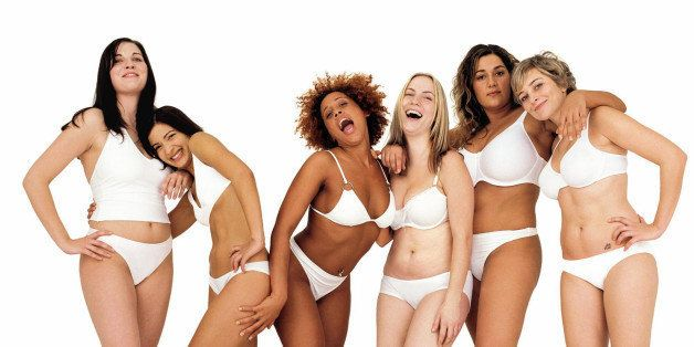 Beautiful normal women bodies are