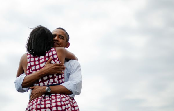 "Of course, we can't forget the <a href=""https://www.huffpost.com/entry/barack-michelle-obama-hug_n_2365485"" target=""_blank"">"""