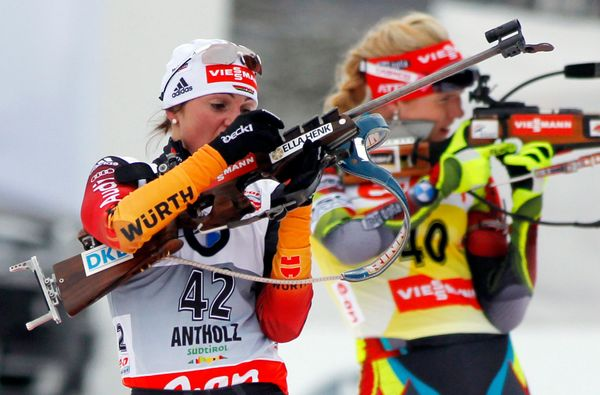 <strong>First men's competition: 1924</strong> <br> With origins in Norwegian military training, the biathlon combines cross-