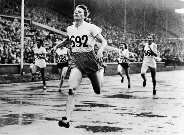 The Dutch athletics star won four gold medals in 1948. At the time, she was a 30-year-old mother of two, and was criticized f