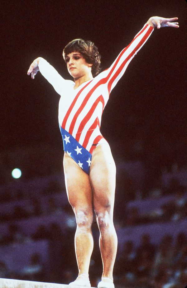 Retton, an American, was the first female gymnast not from Eastern Europe to win a gold medal in the Gymnastic Individual All